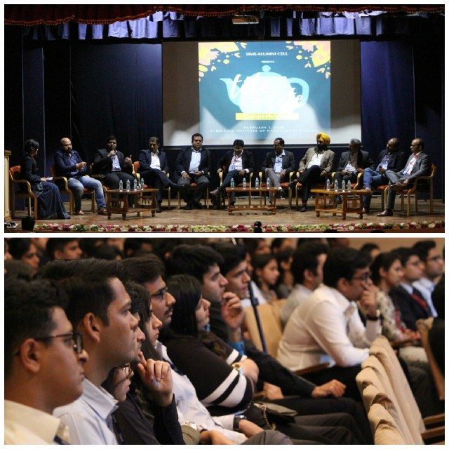 1481f52685b3 Alumni- Students interaction sessions are organized with a purpose to  create a platform for students of SIMS to interact with their alumni and  gain some ...